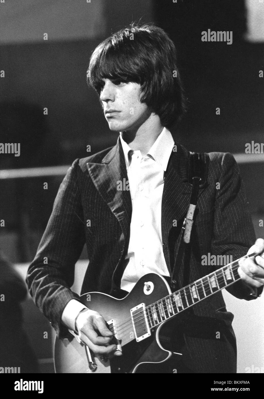 hight resolution of yardbirds jeff beck on ready steady go in june in 1966 shortly before leaving the group photo tony gale