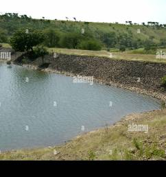 percolation tank at ralegan siddhi near pune maharashtra india stock image [ 1300 x 952 Pixel ]