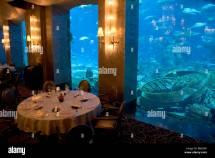 Ossiano Restaurant Atlantis Hotel Fine Dining Uae Aquarium