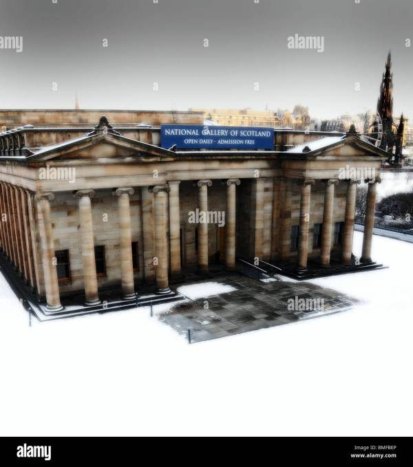 Edinburgh Christmas Tourism Scotland Stock