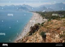 Turkey Antalya - Konyaalti Beach Stock Royalty Free