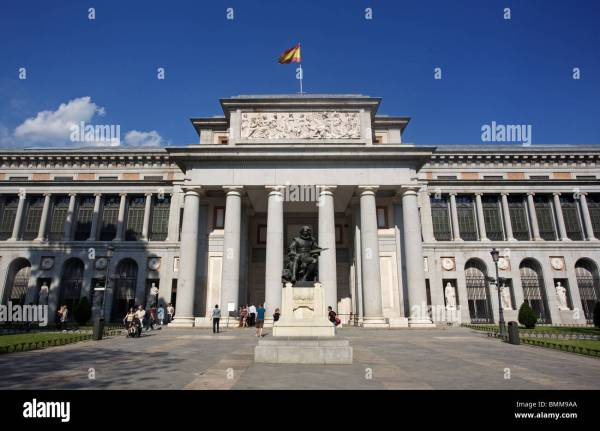 Prado Madrid Stock & - Alamy