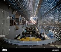 Kyoto Train Station Japan. Architect Hiroshi Hara Stock