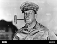 DOUGLAS MacARTHUR - US soldier (1880-1964) with is famous ...