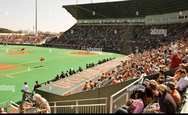 College Baseball Game At The University Of Texas Stadium