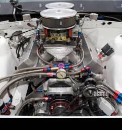 high power v8 drag racing engine stock image [ 1300 x 955 Pixel ]