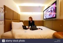 Pod Hotel Stock & - Alamy