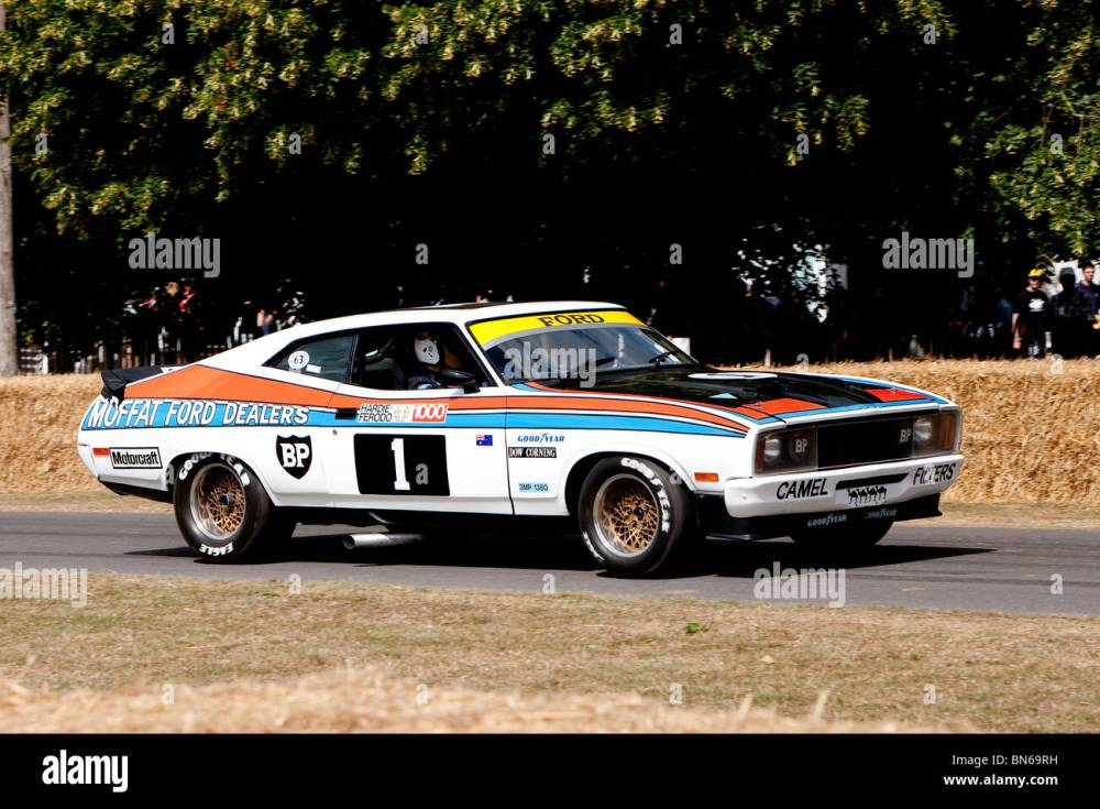 medium resolution of 1977 ford falcon xc gs5500 at the festival of speed goodwood 2010 stock