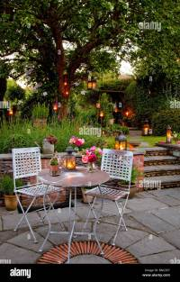 Outdoor Patio Table Candles | Brokeasshome.com