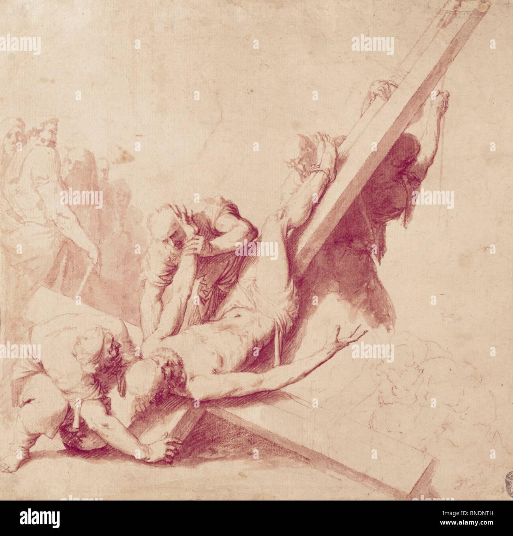 caravaggio crucifixion of st peter