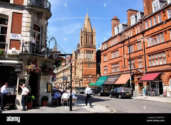 Duke Street Mayfair West End City Of Westminster London England Stock 30422839 - Alamy