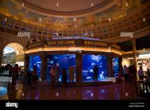 Caesar' Palace Hotel Las Vegas - Aquarium In Shopping