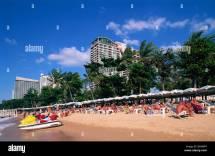 Asia Thailand Pattaya Beach Resort Sand Sea