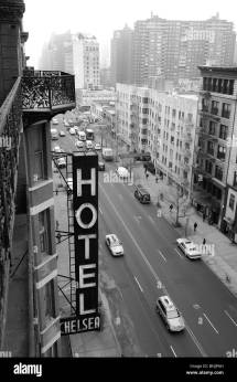 Chelsea Hotel 222 23rd Street Manhattan York
