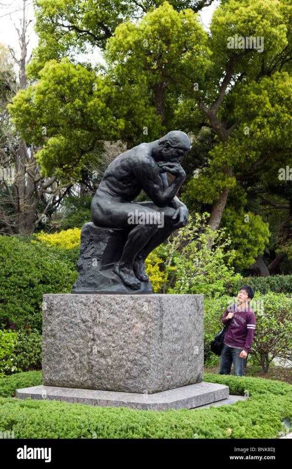 Thinker Rodin National Museum Of Western Art