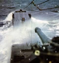 u boat german u boat at sea during ww2 stock image [ 1003 x 1390 Pixel ]