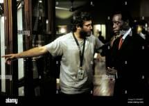 Joaquin Phoenix & Don Cheadle Hotel Rwanda 2004 Stock