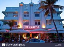 Art Deco Hotel South Beach Miami Florida