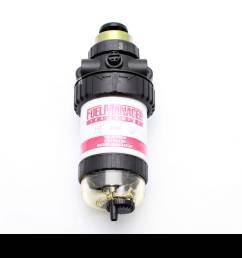 fuel manager 100 series diesel fuel filter 150 micron pre filter water separator [ 1300 x 956 Pixel ]