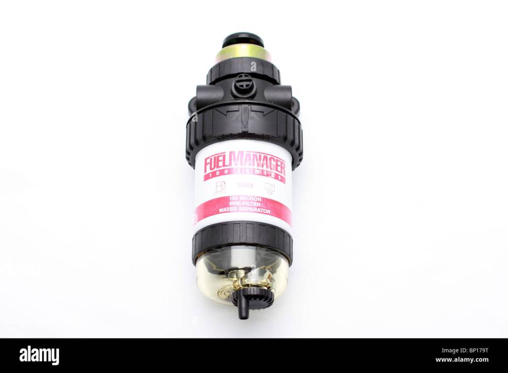 medium resolution of fuel manager 100 series diesel fuel filter 150 micron pre filter water separator