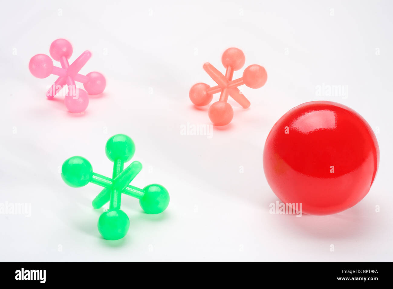 jacks toy ball stock