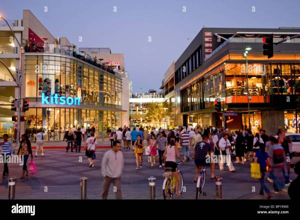 Santa Monica Place Mall Stock 30773484 - Alamy