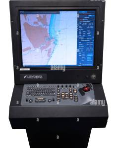 Ecdis electronic chart display information systems simulator also stock rh alamy