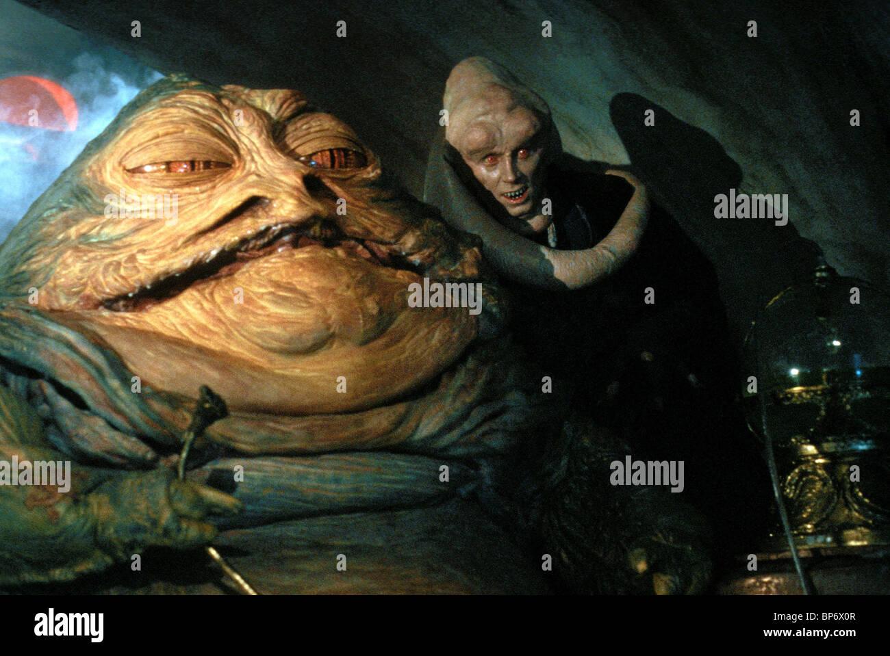 Jabba The Hut Amp Michael Carter Star Wars Return Of The