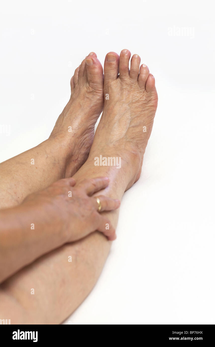 Mature feet Stock Photo Royalty Free Image 30891670  Alamy