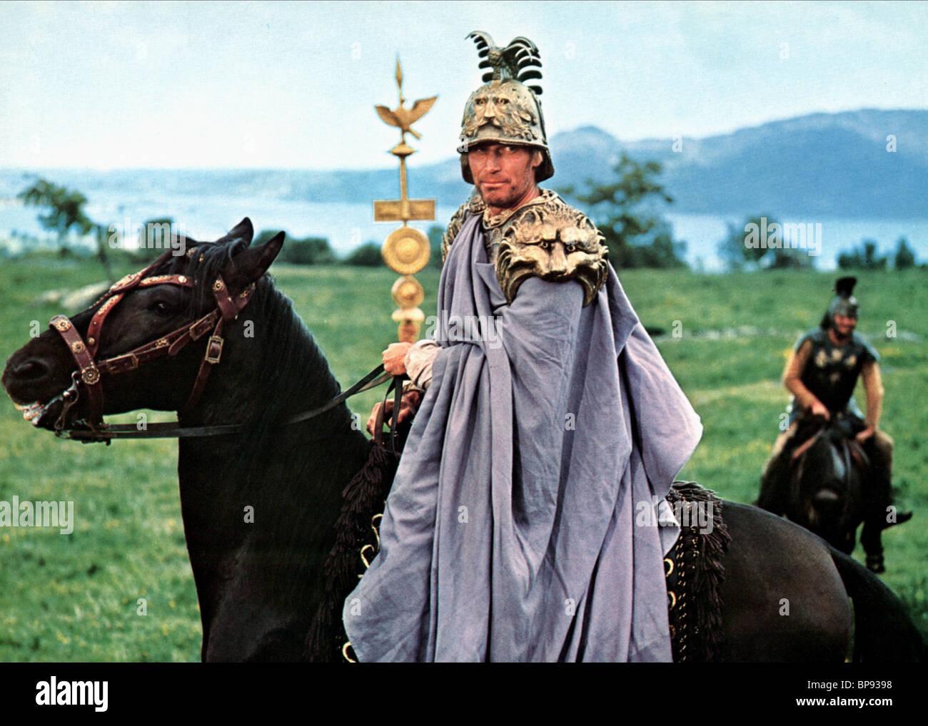 Charlton Heston Julius Caesar Stock Photo