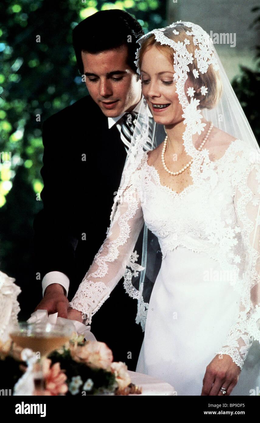 DESI ARNAZ JR  AMY STRYKER A WEDDING 1978 Stock Photo