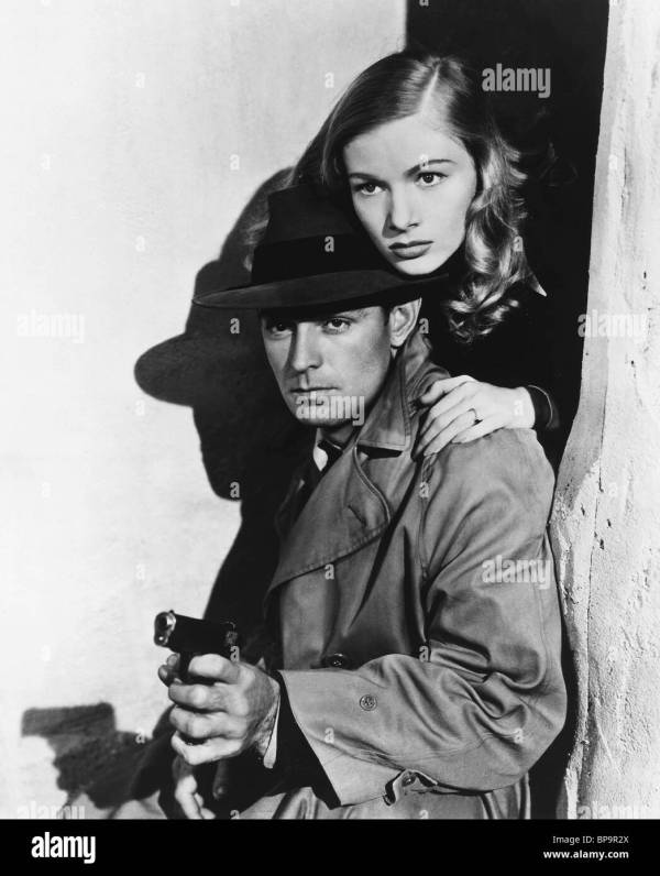 Alan Ladd & Veronica Lake Gun Hire 1942 Stock 30948482 - Alamy