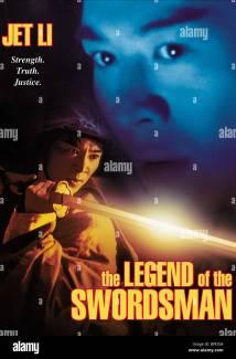Jet Li Legend Of Swordsman 1992 Stock