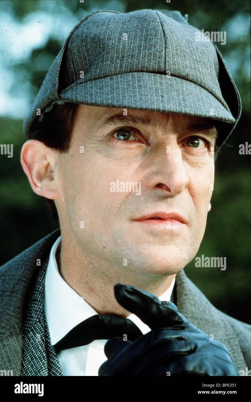 Sherlock Holmes Jeremy Brett : sherlock, holmes, jeremy, brett, JEREMY, BRETT, SHERLOCK, HOLMES, (1992, Stock, Photo, Alamy