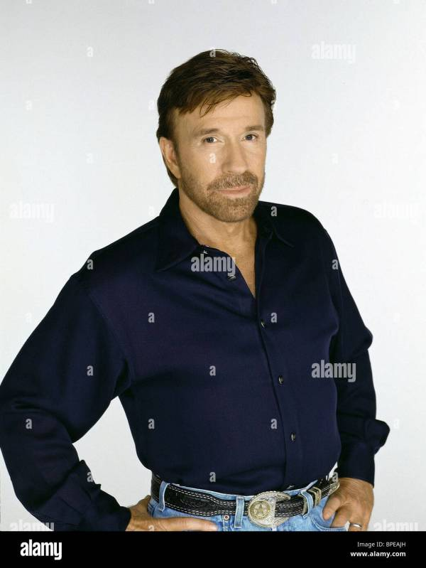 Chuck Norris Walker Texas Ranger Stock Photos Chuck