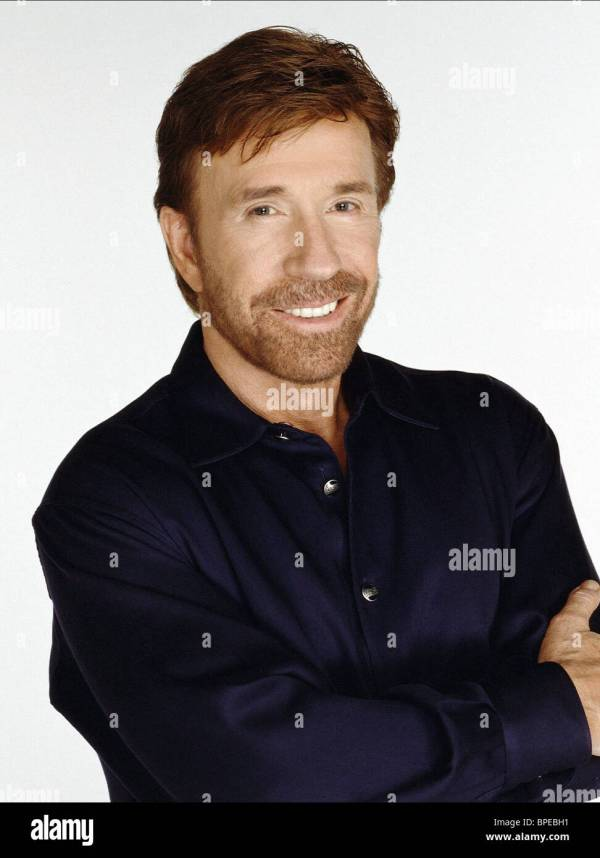 CHUCK NORRIS WALKER TEXAS RANGER 1993 Stock Photo