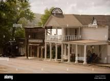 Fairweather Inn Virginia City Montana Usa Stock