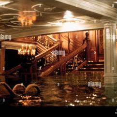 Inside The Titanic Diagram 1972 Toyota Fj40 Wiring Sinking Scene 1997 Stock Photo Royalty Free