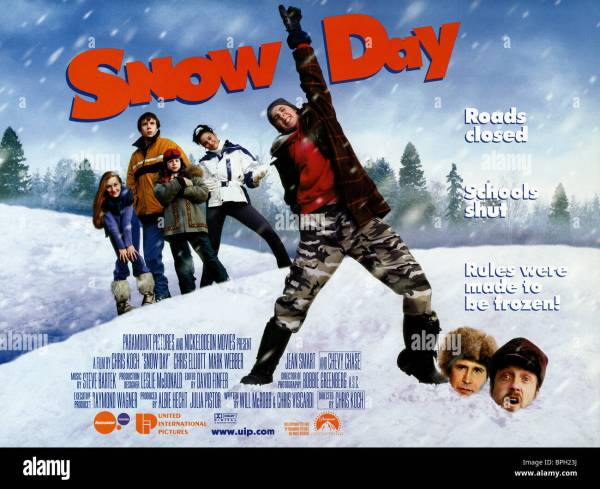 Film Poster Snow Day 2000 Stock 31107654 - Alamy