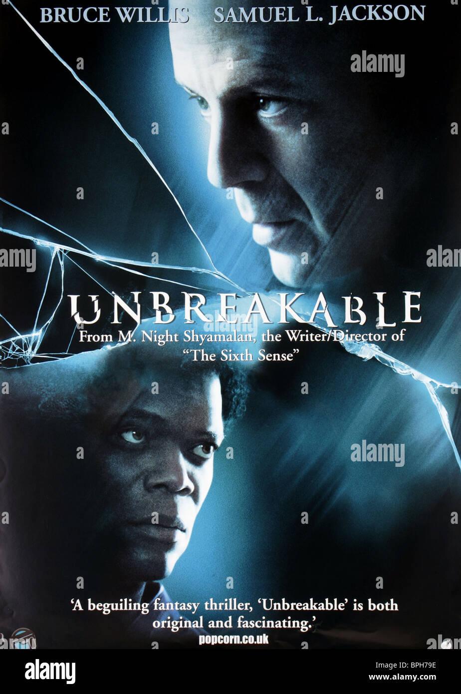 Samuel L Jackson & Bruce Willis Poster Unbreakable (2000