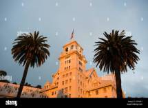 Claremont Hotel And Resort Historic Dusk With