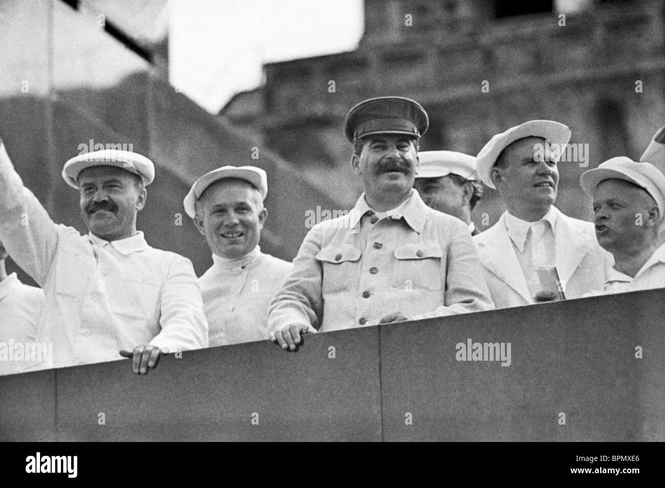 Image result for images of stalin reviewing parade