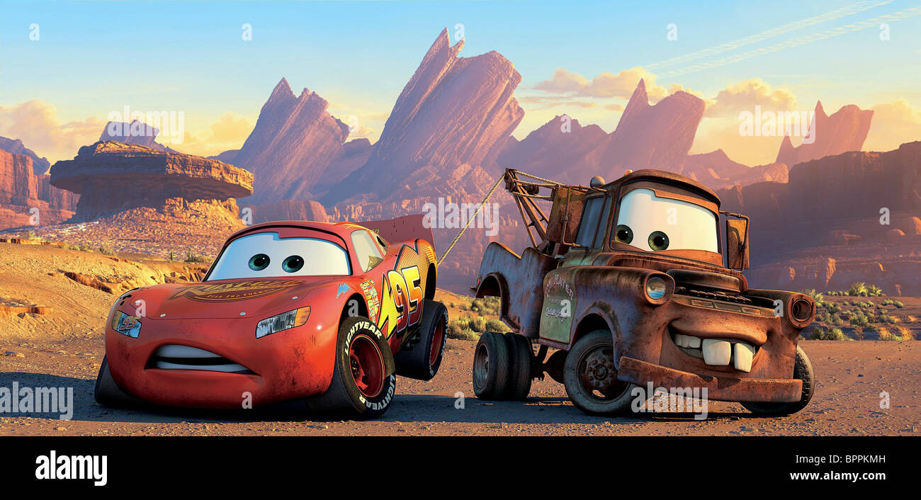 Cars 2 Lightning Mcqueen And Mater Flying