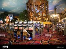 View Casino Area Of Paris Hotel