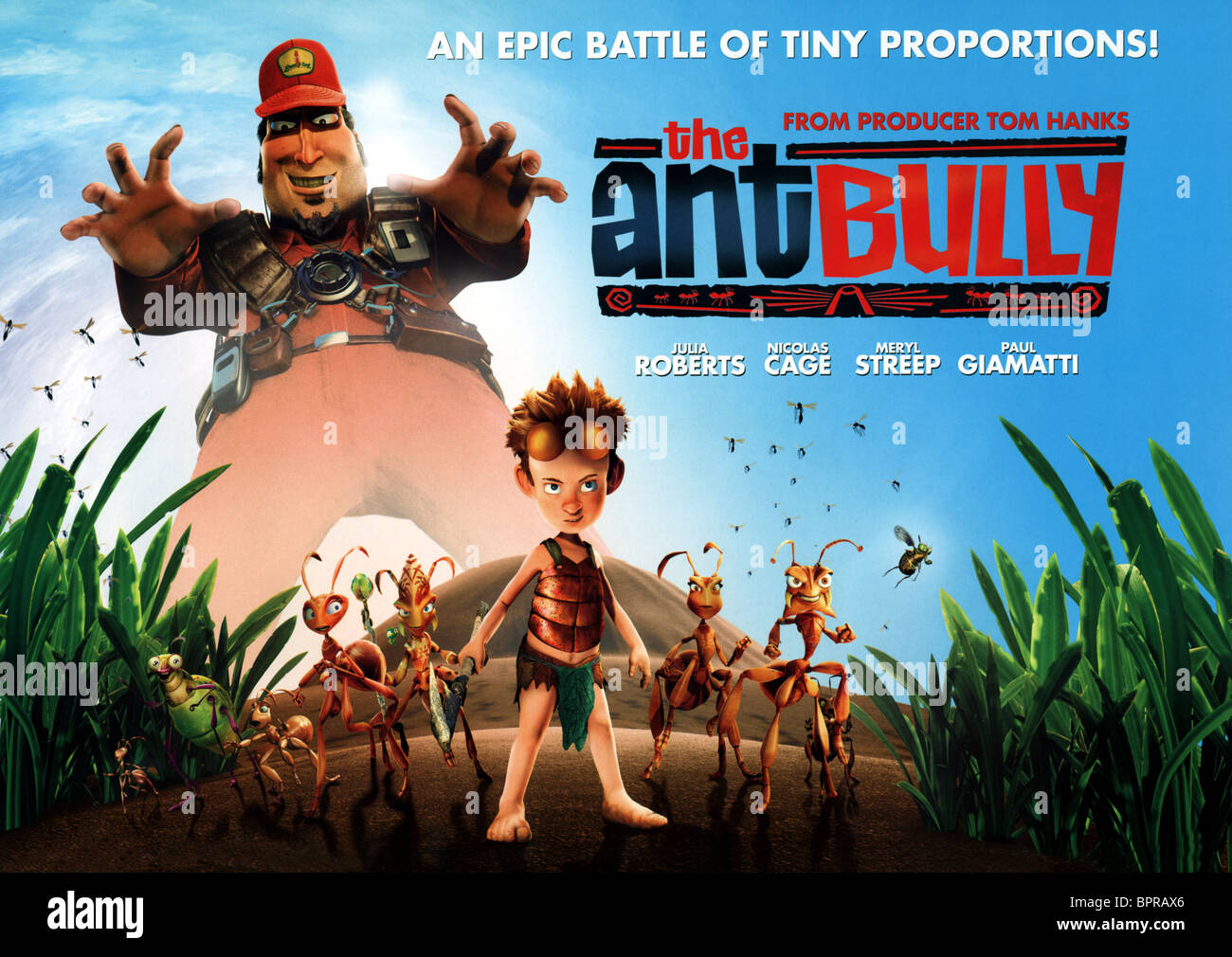Movie Poster The Ant Bully Stock Photo
