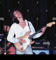 jeff beck musician 1976 stock image [ 1300 x 956 Pixel ]