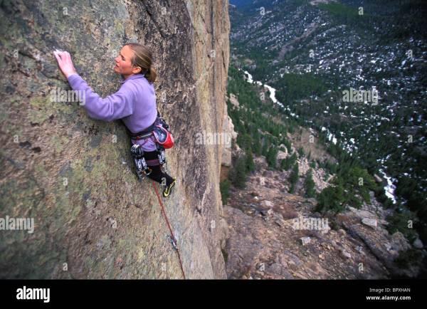 Rocky Mountain National Park Rock Climbing