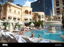 Swimming Pools Bellagio Hotel Las Vegas Usa