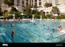 Swimming Pool Las Vegas Stock &