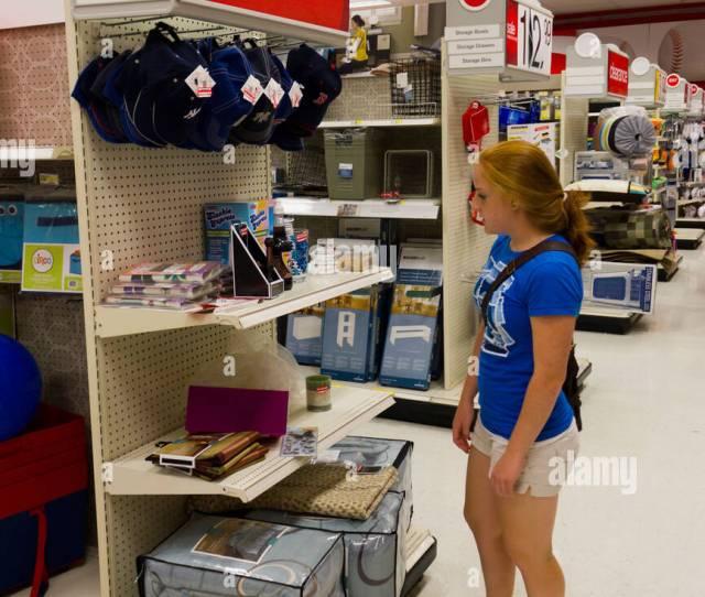 Back To School Shopper In Target Store Philadelphia Usa